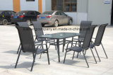 a mobília de 7PCS Moder ajustou-se por Table+Chairs