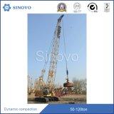 Machine dynamique hydraulique du tassement CHUY360