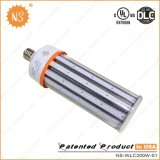 Luz do milho do diodo emissor de luz do UL Dlc IP64 100-277V 5000k 30000lm E39 200W