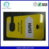 PVC di plastica Card, Snap di Diecut Combo fuori dal PVC Keytag