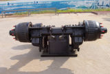 28トン容量のトレーラーの使用BPWの中断