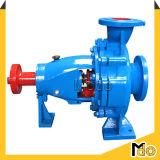 Pompe à eau centrifuge mobile diesel d'aspiration de fin d'étape simple