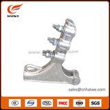 Línea de arriba abrazadera de poste de la abrazadera de tensión de la aleación de aluminio de Nll del hardware