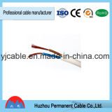 Fio elétrico de venda quente flexível do PVC do fio do cabo liso de Rvvb 2*2.5mm da alta qualidade
