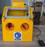 Kleine Sandstrahlen-Maschine