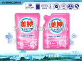 Le détergent liquide de blanchisserie pour des vêtements nettoient et s'inquiètent l'utilisation par la machine à laver