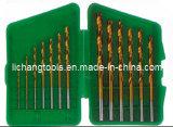 13PCS HSS Twist Drill Bits Set con Plastic Package
