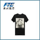 둥근 고리 t-셔츠 또는 주문 t-셔츠 또는 남자 t-셔츠