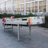 Courroie automatique de refroidissement à l'air de PVC pour la ligne d'enduit de poudre