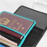 Tampa do passaporte da segurança de RFID para o cartão e o macaco