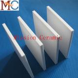 Placa cerâmica da alumina 99.7% elevada da dureza 95%