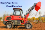 Mini Shovel Loader Er10 com Pallet Forks