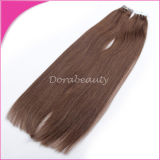 Human Hair Extensionsの卸し売りインドのRemy Hair Double Drawn Tape