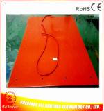 800 * 1100 * 1.5mm Presione el calentador de goma del silicón del calentador de la máquina