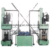 Aluminum Chips를 위한 수직 Briquette Machine Press Machine