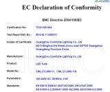 LEIDENE van de Noodsituatie van de Goedkeuring van CE&RoHS Buis met de Sensor van de Motie