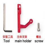 Ayuda de aluminio del montaje del soporte del sostenedor de la exhibición del monitor de la aleación del CNC de Dji