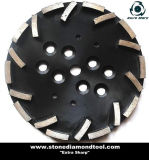 Radial Arm Machine를 위한 10 인치 Diamond Concrete Grinding Plate