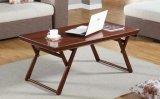 Таблица чая способа таблицы чая стола комнаты твердого стола стола тополя деревянного самомоднейшего живущий (M-X2035)