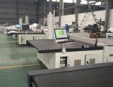 De automatische Ultrasone Scherpe Machine van de Stof met de Vacuüm Textiel Scherpe Machine van het Mes