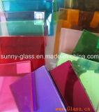 6.38 -43.20mm Sicherheitsglas-lamelliertes Glas