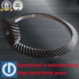 Engranajes cónicos espirales Zp495 de ASTM 4140