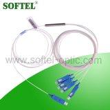 SC/PC 1X4 0.9mm 광섬유 PLC 쪼개는 도구