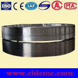 A estufa giratória oxidada da pelota parte o pneumático do rolo de sustentação & da estufa giratória