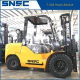 O dobro cansa 6m Forklift de levantamento do diesel de 4 toneladas
