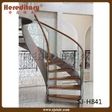 Escadaria de vidro da espiral dos trilhos (SJ-H841)