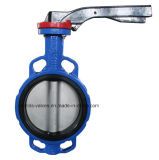 Hand Lever (D371X-10K/16K)のJIS 10k/16k Cast Iron Wafer Type Butterfly Valve