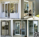 Nueva ventana durable del marco del aluminio/PVC del estilo