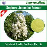 自然なSophoraのJaponicaの花または芽のエキスのルチン
