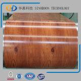 A cor de Dx51d PPGI revestiu a bobina de aço do encaixotamento de China