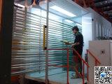 Machine d'enduit en aluminium de poudre de profil