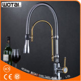 A única alavanca retira o Faucet da cozinha (WT1001CG-KF)