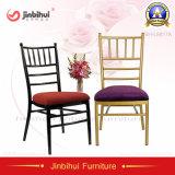 Cadeira moderna de alumínio de Tiffany Chiavari do casamento do restaurante do banquete do hotel do metal (BH-L8815)