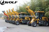 판매를 위한 늑대 Zl16 건너뜀 로더
