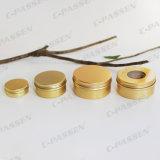 goldenes Aluminiumglas 80g für Kosmetik-Sahneverpackung