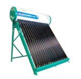 Calentador de agua solar de 18 tubos para Suráfrica