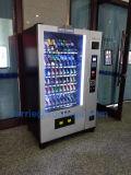 Máquina expendedora de bebidas y aperitivos