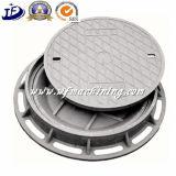 연성이 있는 철을%s 가진 En124 모래 무쇠 주물 맨홀 뚜껑