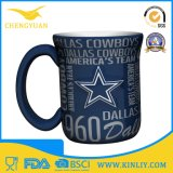 Tazza di caffè di ceramica vigorosa della tazza di tè di vendita calda NFL per l'uomo