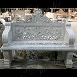 대리석 벤치 & 테이블 돌 벤치 & 테이블 화강암 벤치 & 테이블 백색 Carrara 벤치 Mbt 109