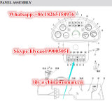 Sdlg LG936/LG938/LG956L/LG968 Ladevorrichtungs-Ersatzteil-rückwärtiger Beleuchtung Taste-Schalter 4130000491
