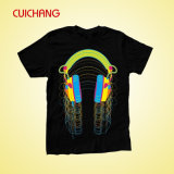 T-shirt para Sublimation, t-shirt Transfer Paper de Sublimation Black