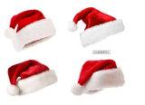 Chapeau rouge de Noël de mode des 2016 hivers