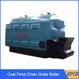 Nuovo caldaia a vapore infornata della griglia fissa del timpano di disegno singolo carbone