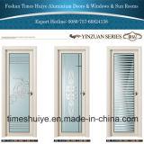 Portes articulées d'alliage d'aluminium avec des accessoires d'acier inoxydable