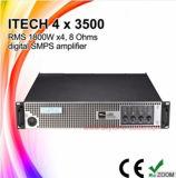 専門4channels私技術4X3500のステレオの電力増幅器